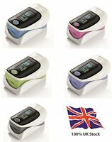 Probe Heart Pulse Rate Blood Oxygen Sensor Paitent Monitor SPO2 Finger Oxi Meter