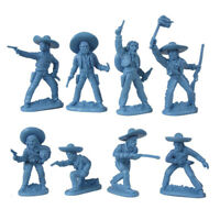 LOD MEXICAN BANDITS COWBOYS 16 Plastic Toy Soldiers 1/32 FREE SHIP