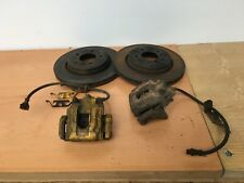 BMW E46 330i 330Ci 330d REAR Brake Upgrade - Discs Calipers Carriers 320mm - E36