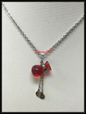 PT1309;  STAINLESS STEEL LUCKY MONEY BAG PENDANT,  NECKLACE
