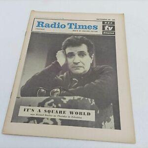 "BBC Vintage Radio Times October 18th 1962 [Ex] Michael Bentine ""It's a Square..."