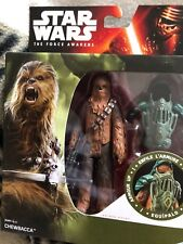 Star Wars The Force Awakens Chewbacca 3.75-Inch Figure Forest Mission Armour Up