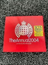 Ministry of Sound The Annual 2004 (3CD) Limited Edition Box Set