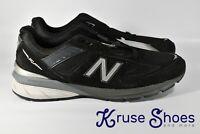 New Balance Made in USA 990v5 Sneakers Black/Silver M990BK5 Men's US 12 2E