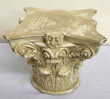 Corinthian Greek Roman Column Art Table Top Pedestal Riser Sculpture 33055