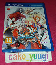 BLAZBLUE CHRONOPHANTASMA EXTEND PS VITA  NEUF SOUS BLISTER VERSION PAL FR