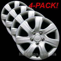 Toyota Camry 2010-2011 Hubcaps - Premium Replacement 445-16s Silver (Set of 4)