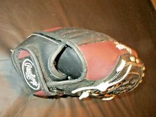 "Rawlings Players Series 10 1/2"" Youth Baseball Glove Black and Brown PL 10566"