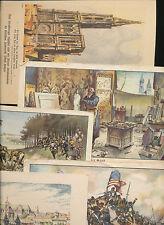 Unvollständige Sammelbilder (bis 1945) mit Geschichts-Motiv