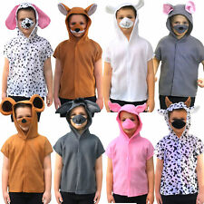 Animal Costume Kids Cute Zoo Farm Characters Fancy Dress Outfit Fox Child Dog