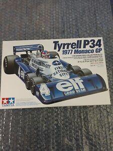 Tamiya 1/20 F1 Tyrrell P33 1977 Monaco GP