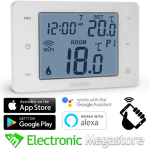 16A Digitale Smart WiFi Cronotermostato Termostato Programmabile Touch screen IT