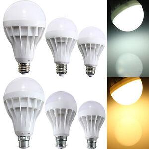 LED E27 Energy Saving Warm White Light Bulb Lamp 9/12/12/15/20/25W 240V