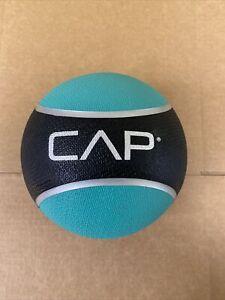 CAP Barbell Rubber Medicine Ball 2 Pounds Black/Blue