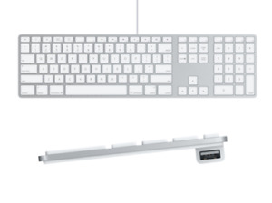 BRAND NEW Apple Wired Keyboard with Extended Numeric Keypad