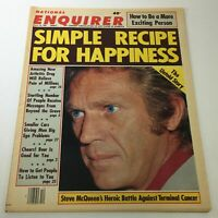 VTG National Enquirer Magazine: March 18 1980 Steve McQueen's Heroic Battle
