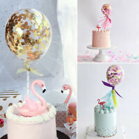Balloon Topper Cake Baby Birthday Decor Party Ornament Prop Wedding Colorful US