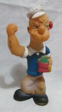 VERY RARE POPEYE RUBBER DOLL, VINTAGE, ARGENTINA,  VERY GOOD, USED, MUST SEE!