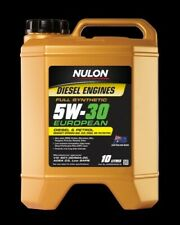 Nulon EURO Full Synthetic EUROPEAN Diesel or Petrol Engine Oil 5W-30 10 Litre