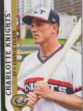 2018 Charlotte Knights Charlie Tilson RC Rookie Chicago White Sox
