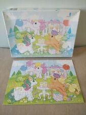 Puzzle Petit Poney vintage 60 pièces MB 1986 jouet 80s pastel MLP anniversaire