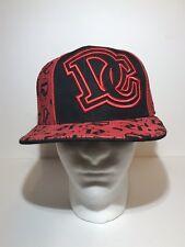 4b9887763a1 Washington DC Fitted Hat Ultimate City Hunter Baseball Cap Sz L Large Red  Black