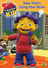 Sid the Science Kid: Now That's Using Your Brain,Very Good DVD, na, na