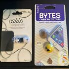 Cable Companion/Bytes Cable Protector Lot iPhone Charger Emoji Stocking Stuffer