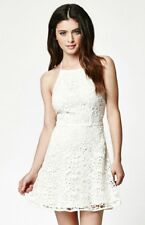 Strappy Back Lace Dress Pacsun by  Kendall Kylie Ivory LARGE