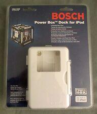 Bosch Power Box Dock For iPod - PBA100D - Jobsite Radio Weather/Abuse Resistant