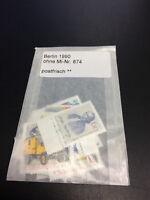 BERLIN Briefmarken Jahrgänge Komplett kpl | POSTFRISCH | Jahrgang: 1990 ohne 874