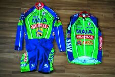 MAILLOT CYCLISTE PRO TEAM MAIA MILANEZA CYCLING TRIKOT 2000s VINTAGE GIORDANA XL