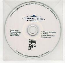 (GP991) Sticky Blood, HEKKY Getaway Car  - 2015 DJ CD