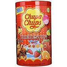 CHUPA CHUPS ORIGINAL SABORES VARIADOS BOTE 100 CHUPACHUPS