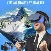 VR Virtual Reality Goggles 3D Glasses Google Cardboard with Headset Stereo Box