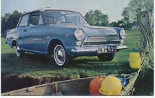 Ford Consul Cortina De Luxe 2 door original Postcard No. A2039/12/62
