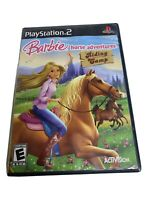 Barbie Horse Adventures: Riding Camp (Sony PlayStation 2) PS2 COMPLETE