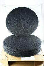 "New listing 20"" Skilcraft Floor polishing pads, black stripping box of 5"