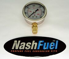 0-6000 PSI HIGH PRESSURE GAUGE DIAL CNG NATURAL GAS NPT COMPRESSED PUMP FLUID