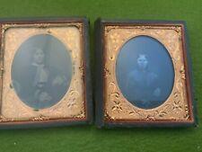 CDV Civil War Era Carte de visite photo tintype civilian sisters cousins?