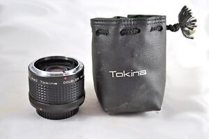 RMC Tokina Doubler for C/FD Canon FD Camera Lens with Custom Draw-String Bag