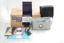 """""""RARE NEAR MINT"""" Contax T3D Titanium 35mm SLR Camera *Double Teeth* Silver #3828"""