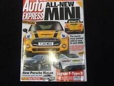 AUTO EXPRESS MAGAZINE NOV 2013 NEW MINI PORSCHE MACAN JAGUAR F TYPE R