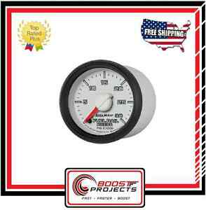 "Autometer 2-1/16"" Fuel Rail Pressure Gauge 0-30K PS Fits Dodge Cummins 5.9L"