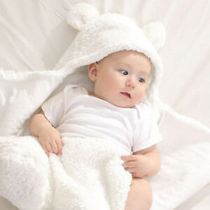 Newborn Infant Babys Swaddle Sleeping Wrap Swaddling Blanket Photography Prop AU