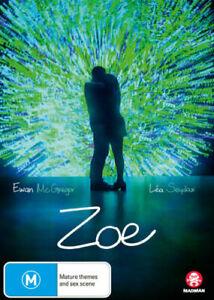 ZOE DVD, NEW & SEALED, FREE POST
