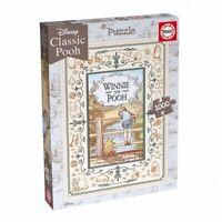 Educa Borras Winnie the Pooh Poohsticks 1000 piece jigsaw puzzle 680 x 480mm NEW