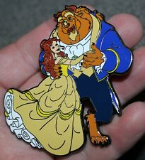 Pin Beauty & The Beast Dancing Wedding Jumbo Fantasy Belle Limited Edition