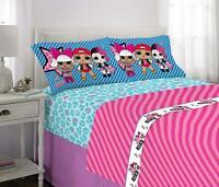 Butterfly Full//Queen Daschund Dog Striped Dreamland 3 Piece Bedding Set NEW