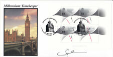 1999 Timekeepers M/S - Steven Scott Official - Signed by LORD FALCONER